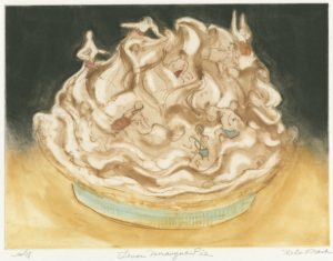 Lemon Merangue Pie by Helen Frank
