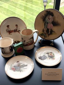 Christy Girl reproductions recently donated by collector Helen Copley